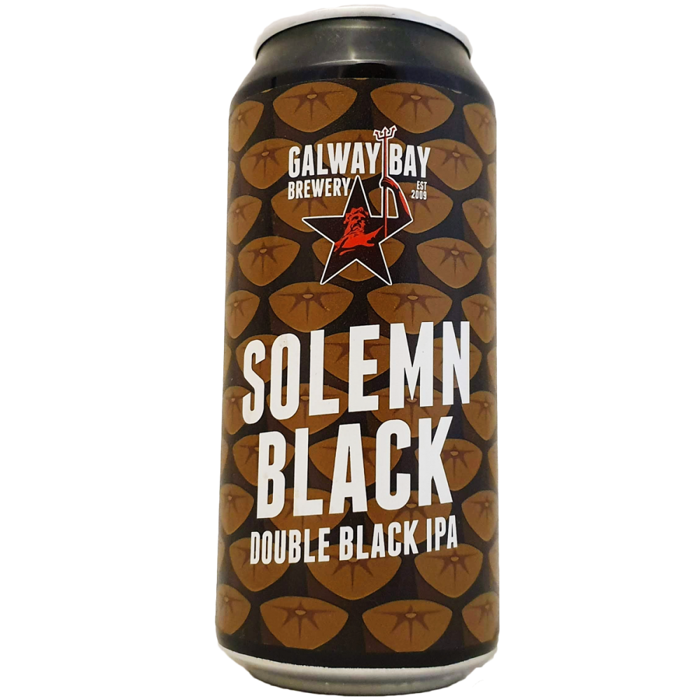 Solemn Black - 44 cl - Galway Bay Brewery