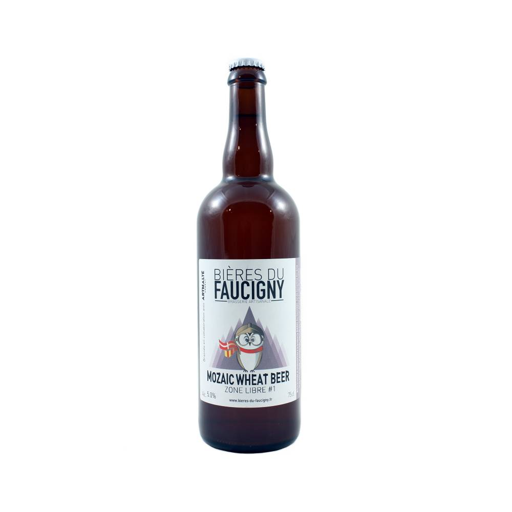 Mozaic Wheat Beer 75 cl