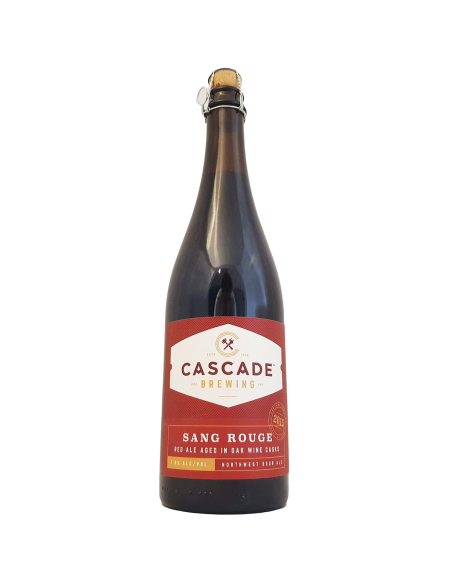 Sang Rouge 2015 - 75 cl - Cascade Brewing