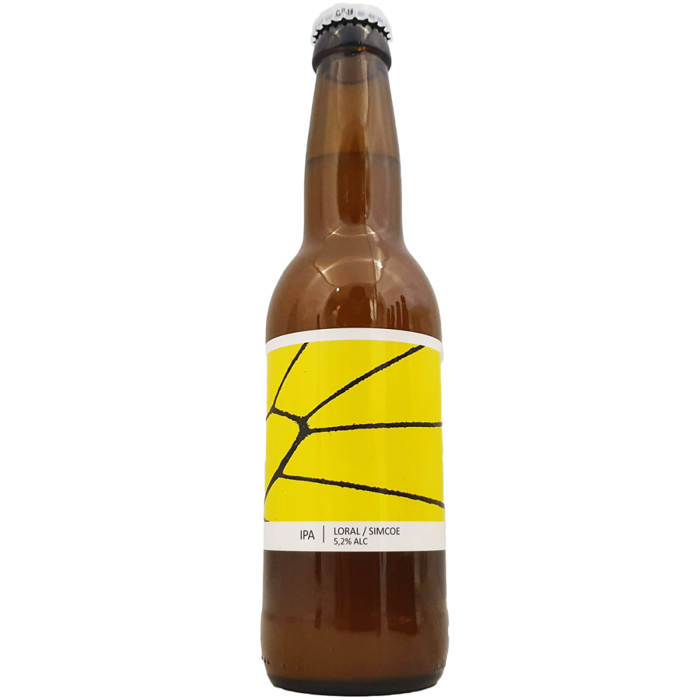 Bière IPA Loral Simcoe - 33 cl - Brasserie Popihn