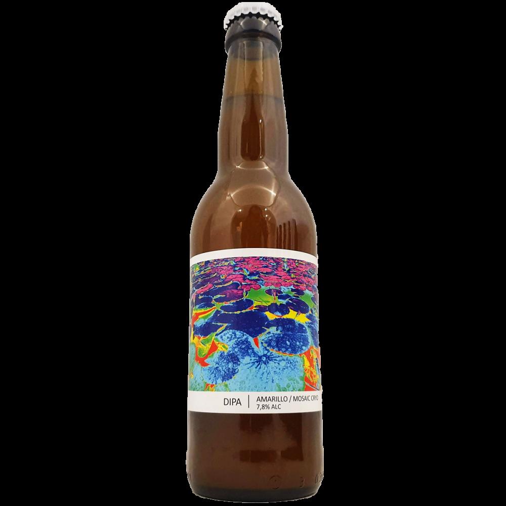 Bière DIPA Amarillo Mosaic Cryo - 33 cl - Brasserie Popihn