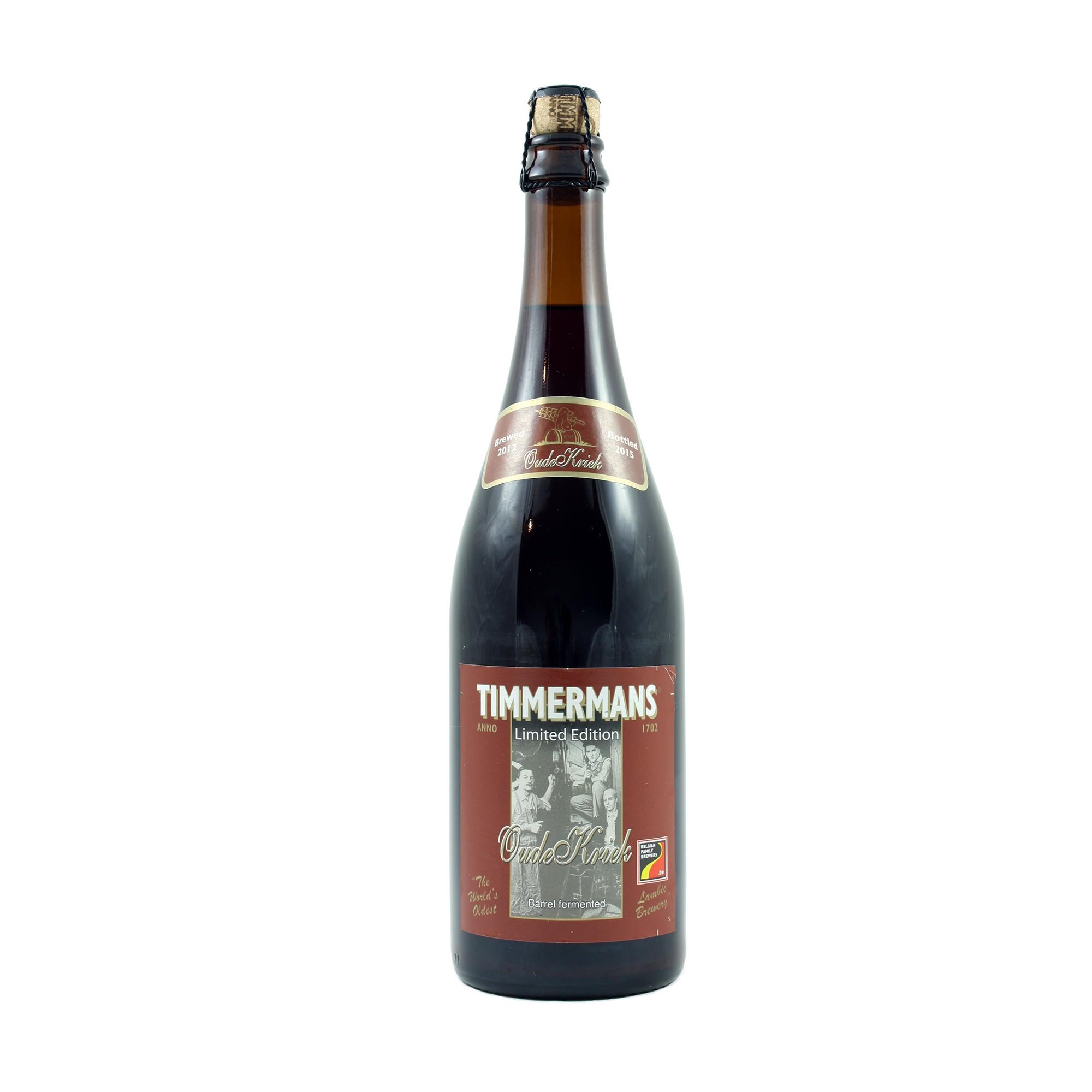 Timmermans Oude Kriek 75 cl