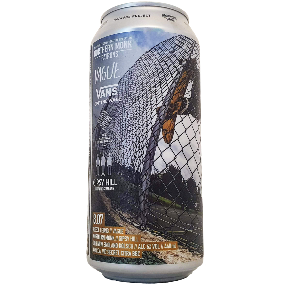 Patrons Project 8.07 // Reece Leung // Vague 44 cl - Northern Monk x The Gipsy Hill Brew Co