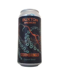Stormbringer Export Stout Buxton Brewery Bière