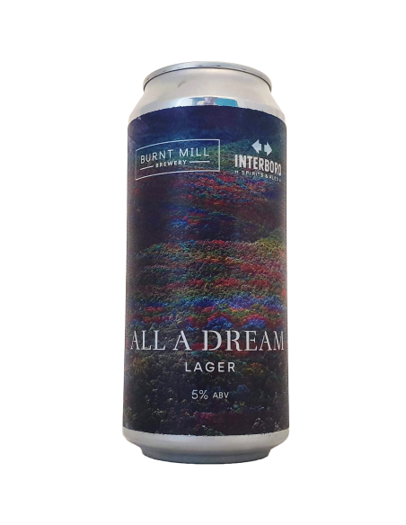 Bière All A Dream 44 cl - Burnt Mill Brewery x Interboro Spirits & Ales