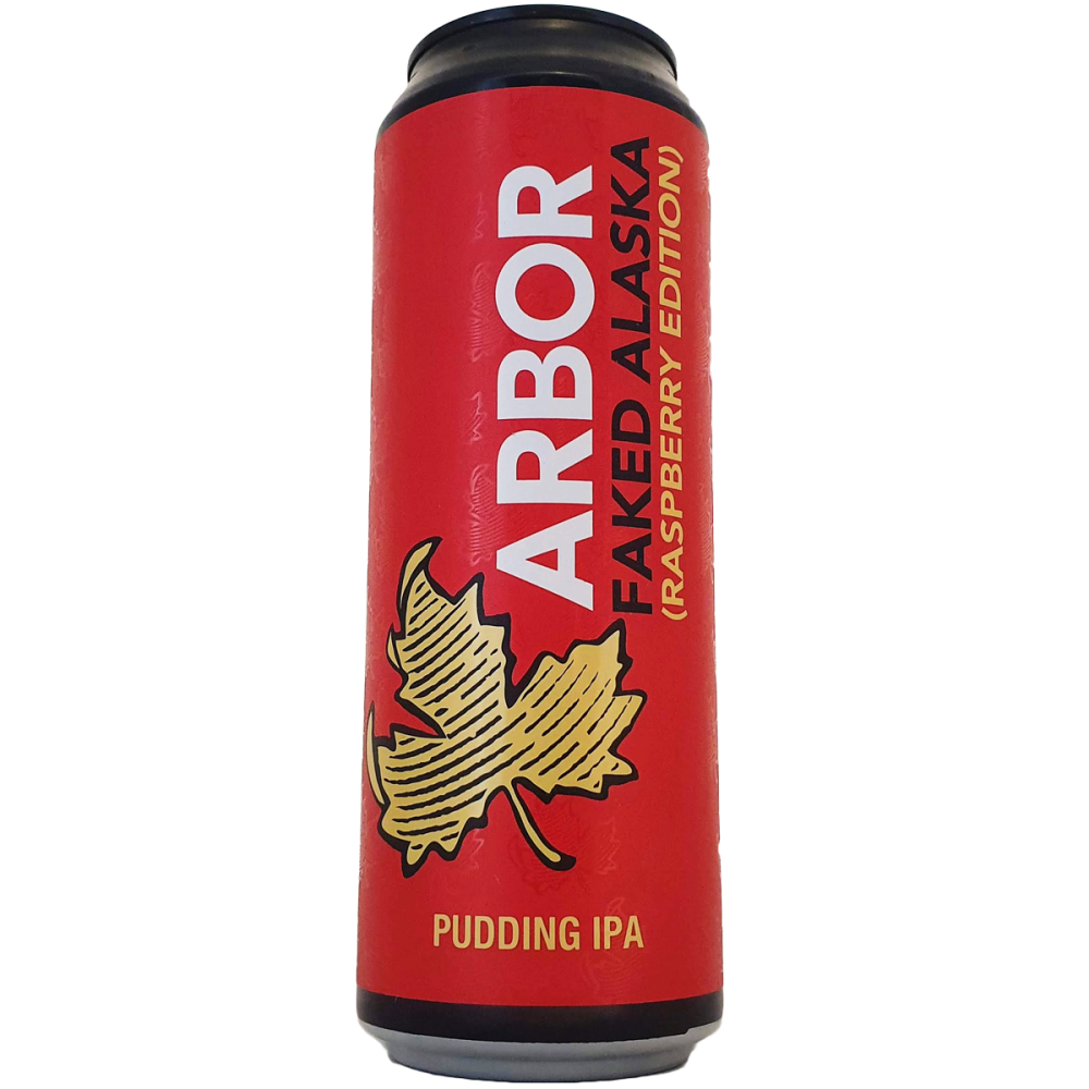 Bière Faked Alaska (Raspberry Edition) 56,8 cl - Arbor Ales Brewery