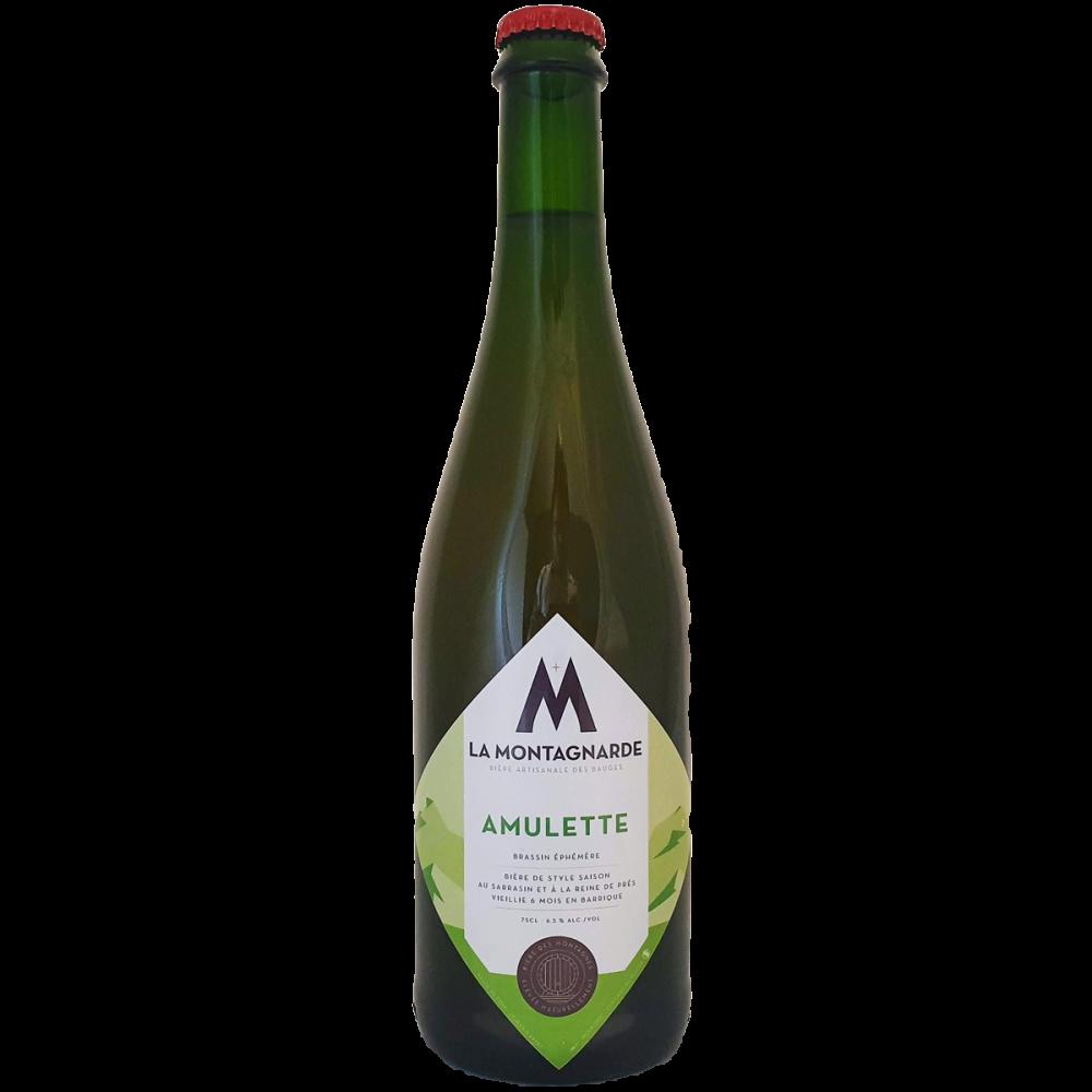 Bière Amulette 75 cl - Micro Brasserie La Montagnarde