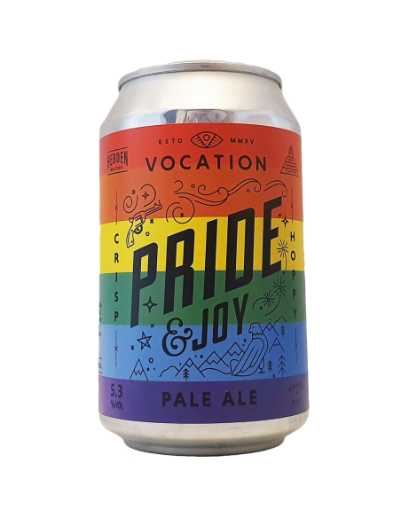 Pride & Joy - Be here, be you, be proud - 33 cl - Vocation Brewery