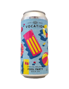Pool Party Sour IPA 44 cl - Vocation