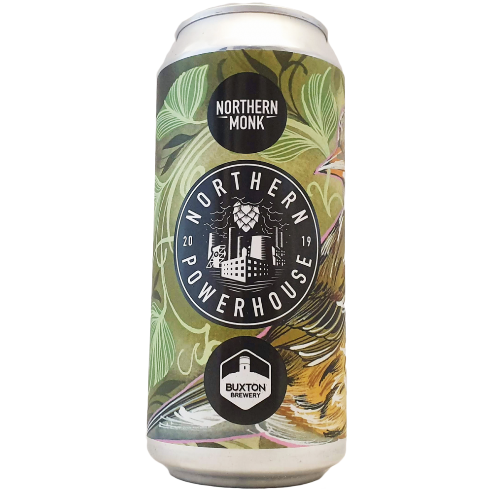 Northern Powerhouse Brew Series 005 // West Coast IPA // Buxton Brewery - 44 cl - Northern Monk