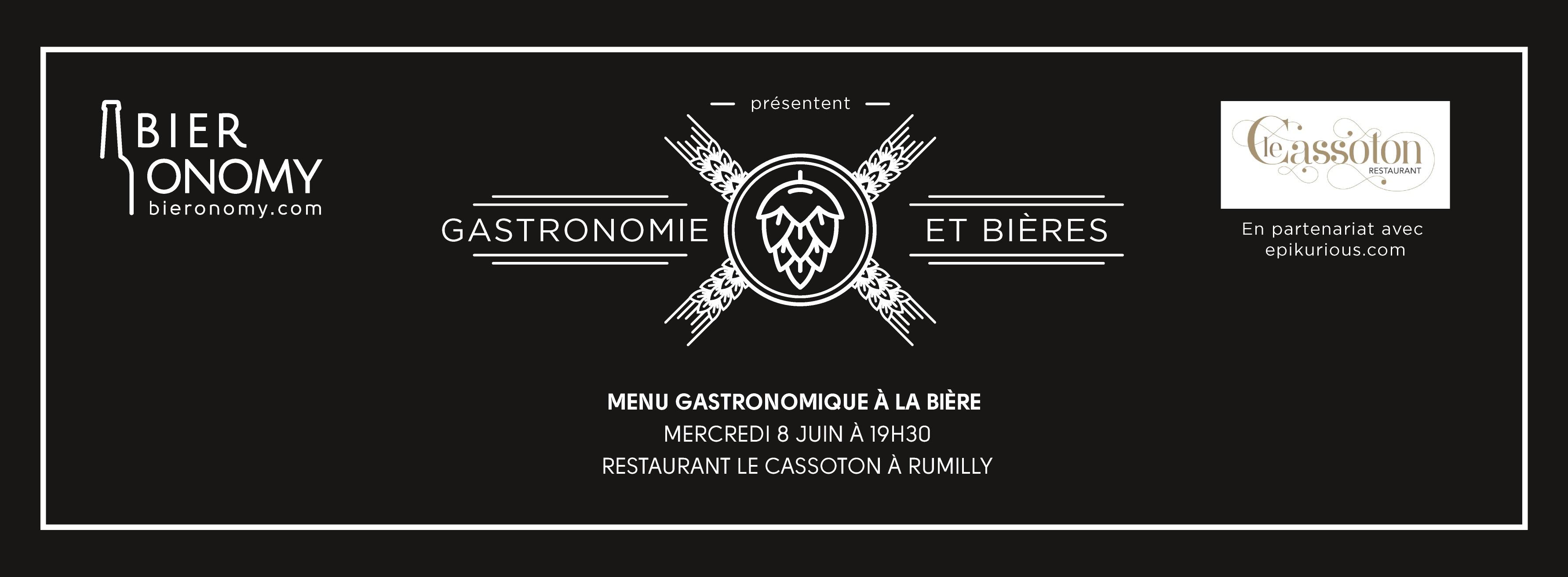 Soirée Gastronomie et Bières 8 juin 2016