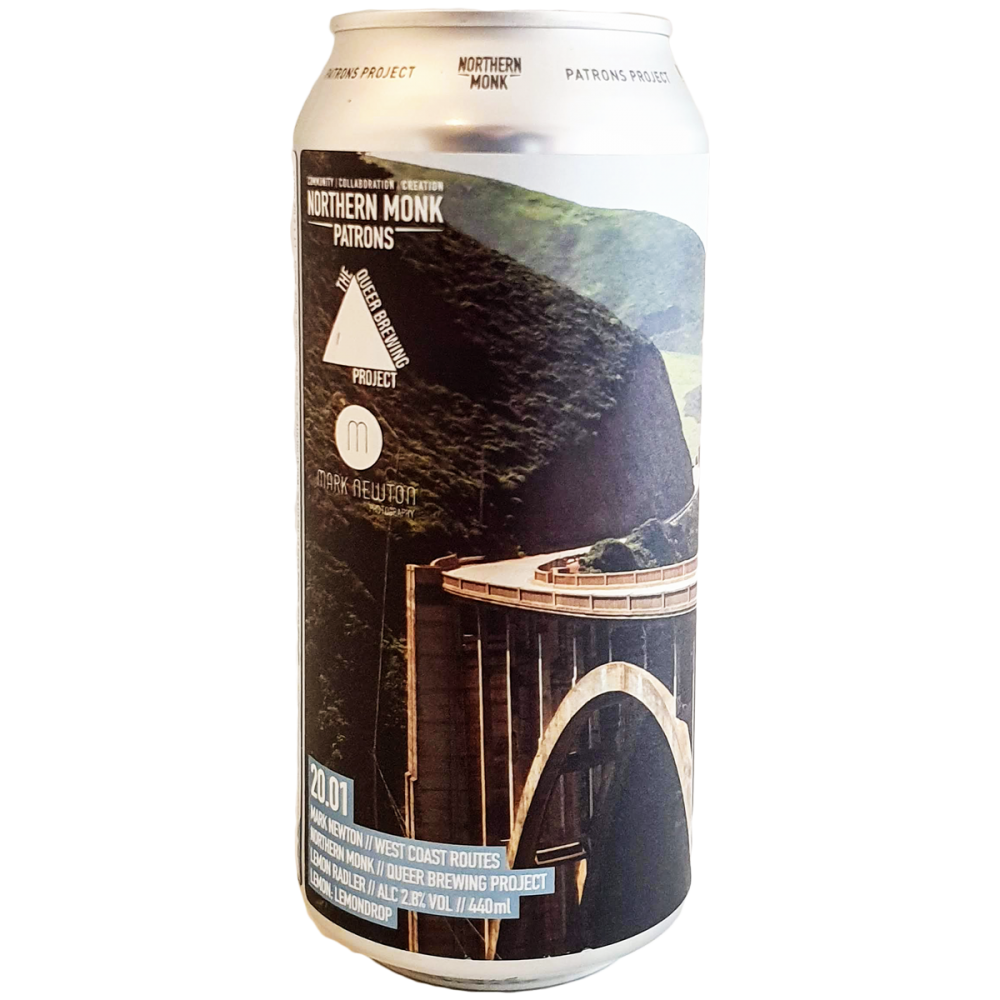 Patrons Project 20.01 // Mark Newton // Queer Brewing // West Coast Routes - 44 cl - Northern Monk