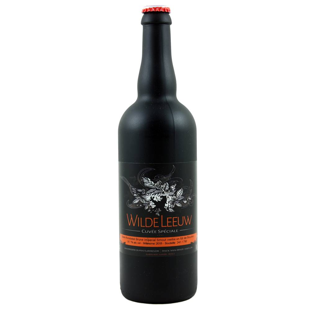 Wilde Leeuw Anosteké Brune Imperial Smout vieillie fût de Bourbon 75 cl