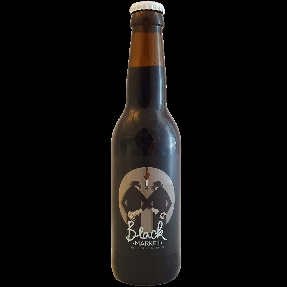Bière Black Market - 33 cl - Brasserie Craig Allan