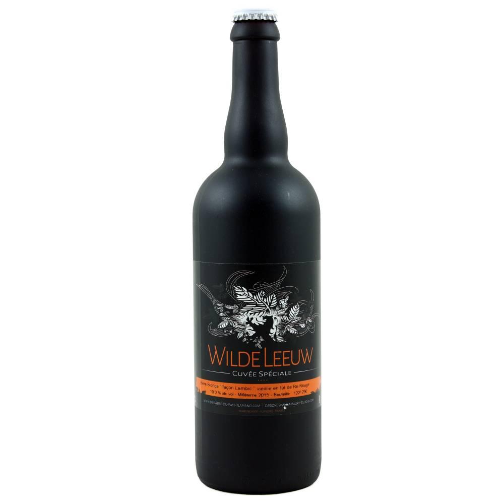 Wilde Leeuw Blonde façon Lambic vieillie fût de vin rouge 75 cl