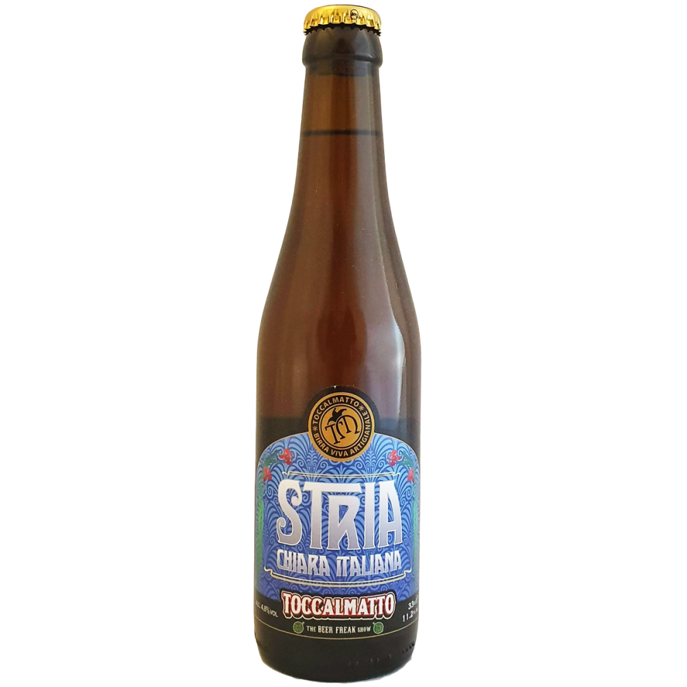 Stria Blond Ale - 33 cl - Birra Toccalmatto