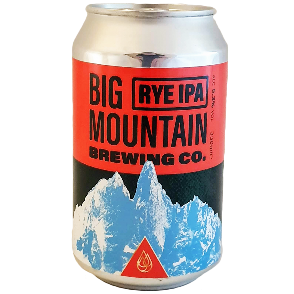 Bière Rye IPA Canette - 33 cl - Big Mountain Brewing Co