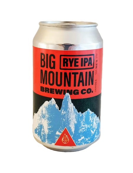 Rye IPA Canette - 33 cl - Big Mountain