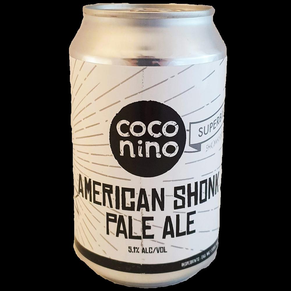 Bière American Shonk - 33 cl - Brasserie Coconino