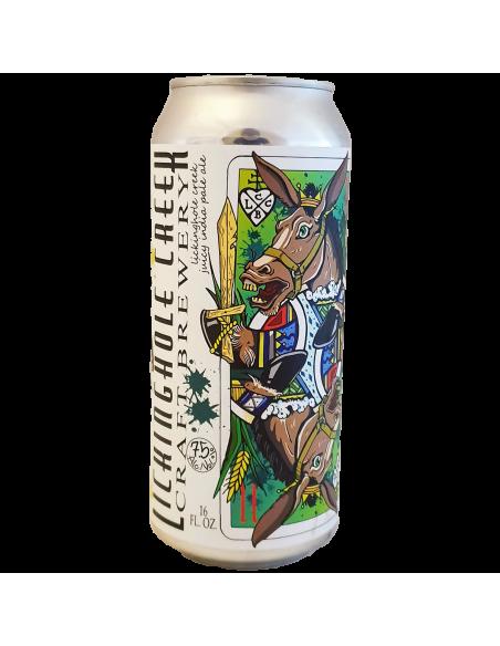 Bière Juicy IPA - 47,8 cl - Lickinghole Creek Craft Brewery