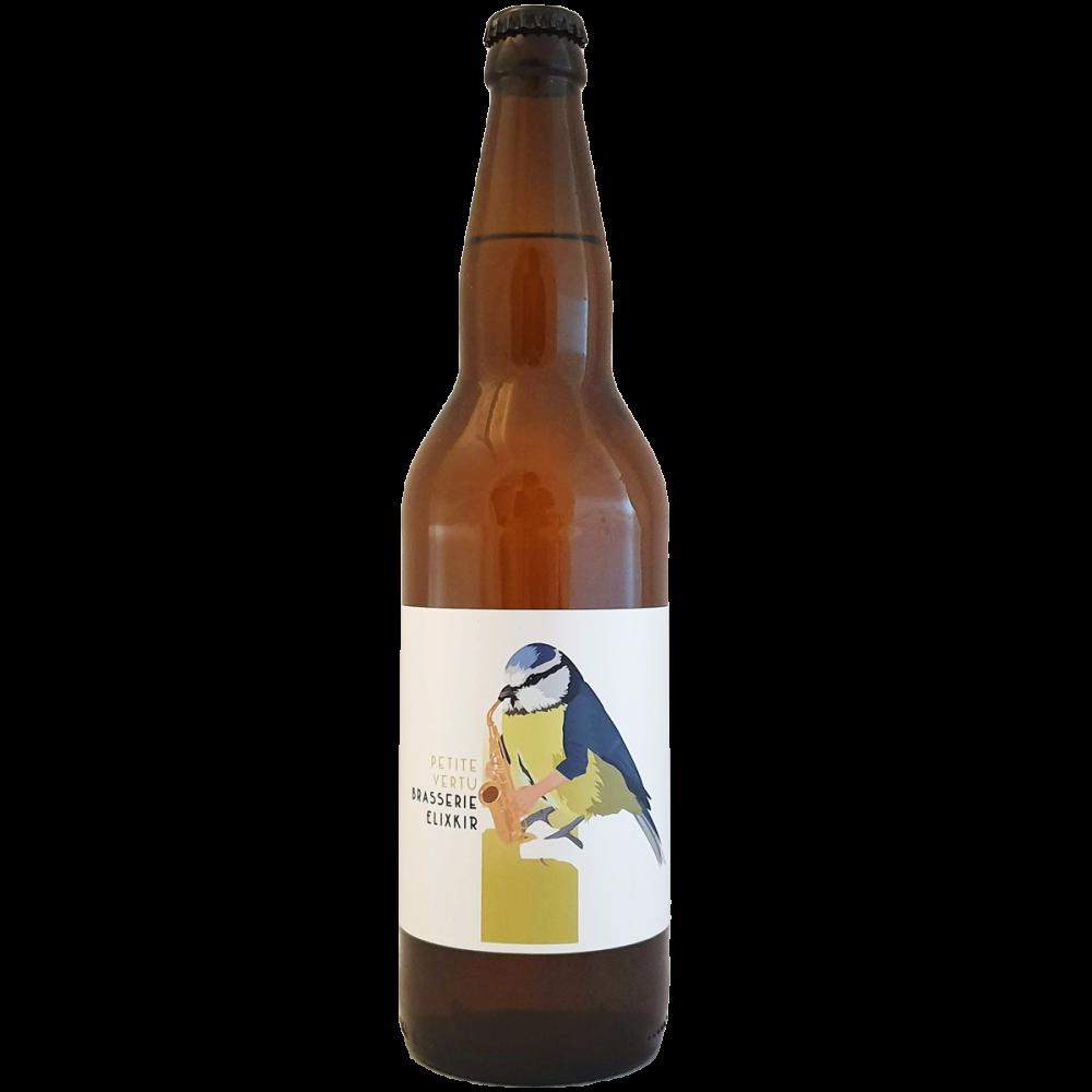 Bière La Part des Hommes 08 Petite Vertus - 66 cl - Brasserie Elixkir