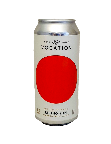 Ricing Sun Japanese Rice Lager 44 cl - Vocation