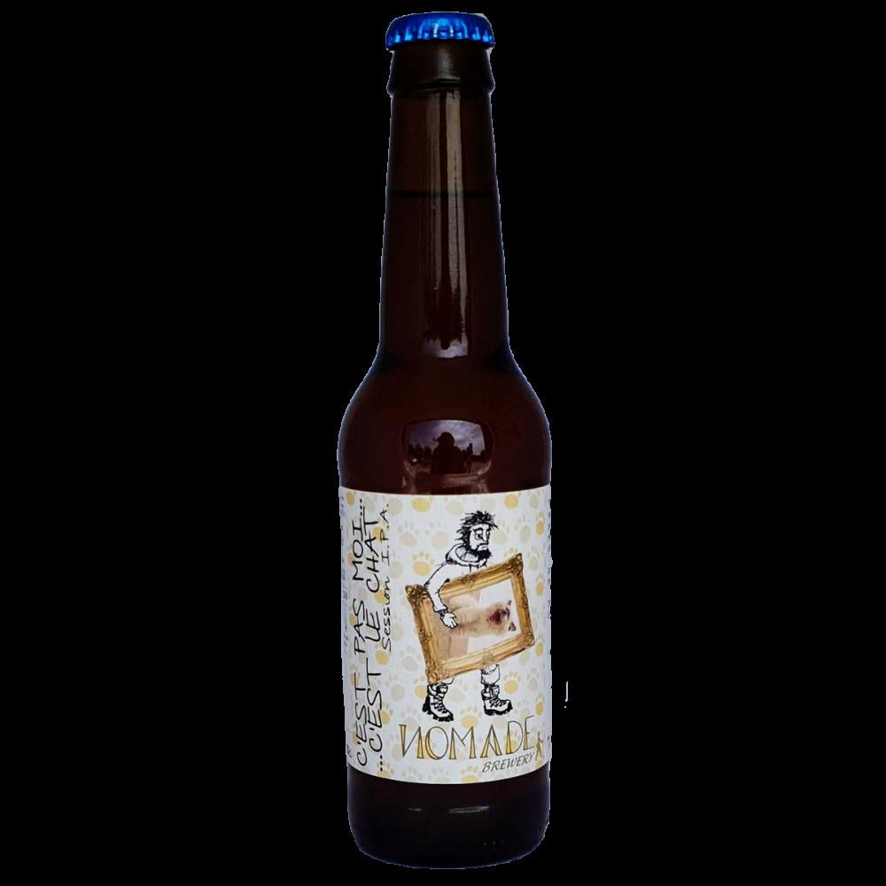 Bière C'est pas moi, c'est le chat Session IPA - 33 cl - Nomade Brewery