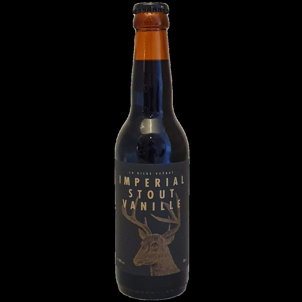 Bière Imperial Stout Vanille - 33 cl - Brasserie Veyrat