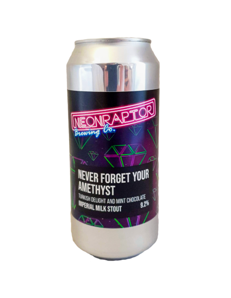Never Forget Your Amethyst - 44 cl - Neon Raptor