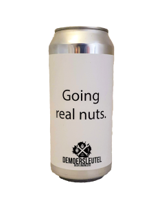 Going Real Nuts Imperial Stout - 44 cl - De Moersleutel