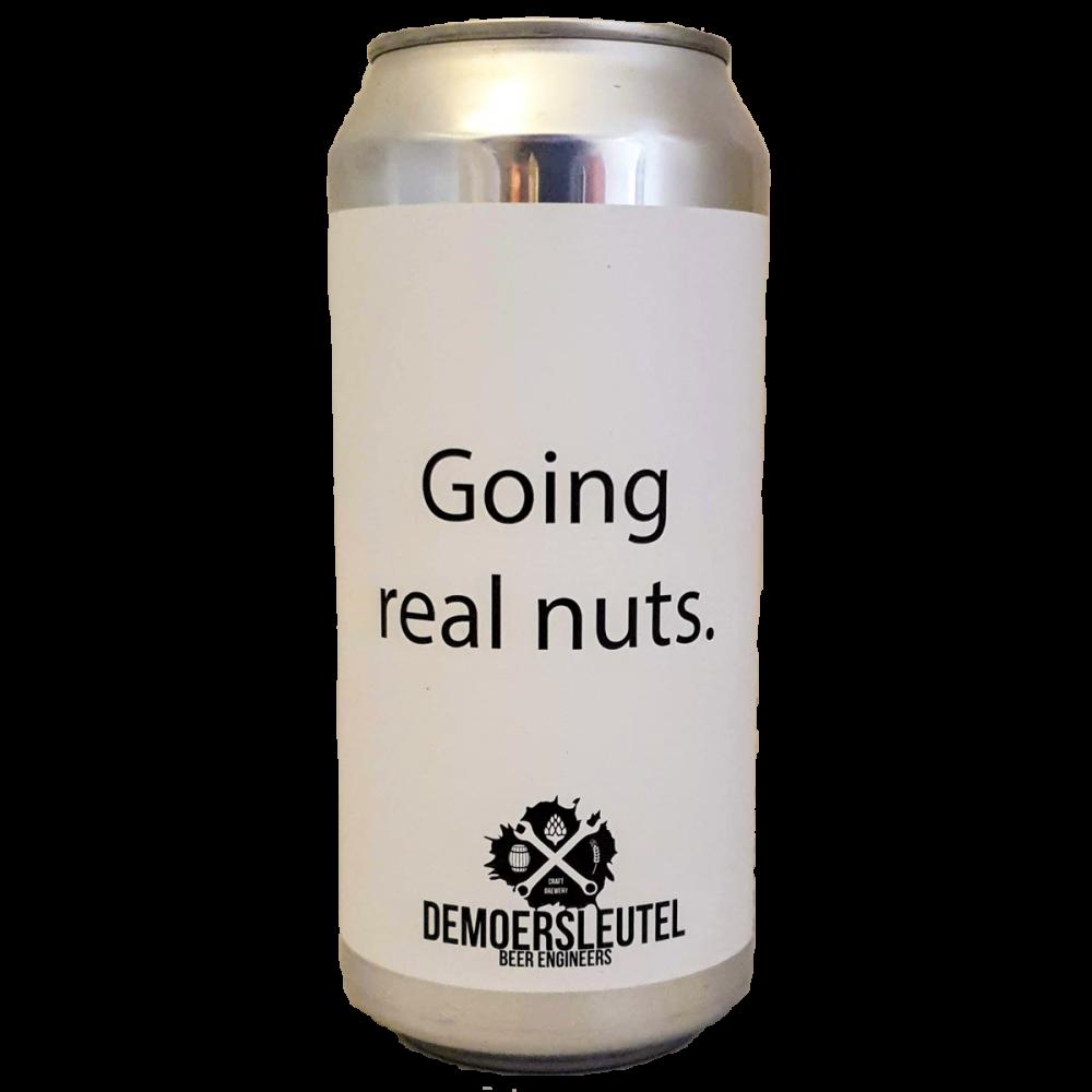 Bière Going Real Nuts Imperial Stout - De Moersleutel