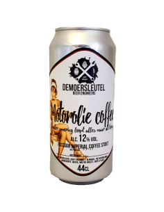 Motorolie Coffee Russian Imperial Stout - 44 cl - De Moersleutel