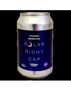 Polar Night Cap Stout - 33 cl - CoolHead x Beerbliotek