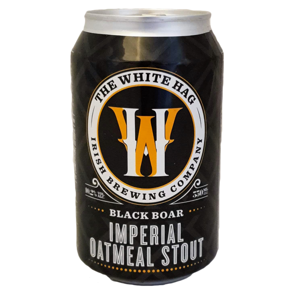 Bière Black Boar Imperial Oatmeal Stout - Brasserie The White Hag Irlande