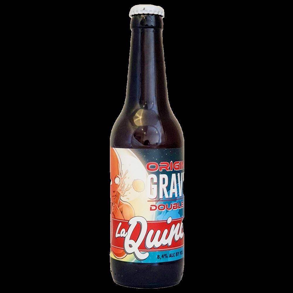 Bière Original Gravity DIPA - 33 cl - La Quince Brewery