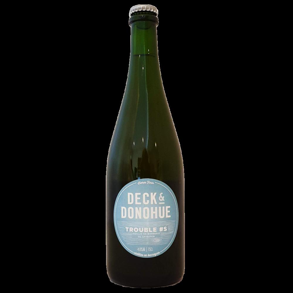 Trouble S - 75 cl - Deck & Donohue - Bière Bieronomy