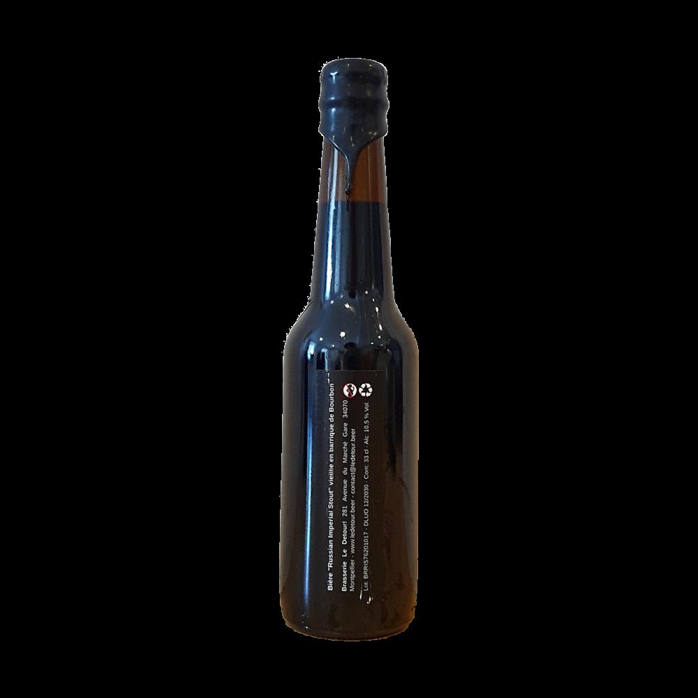 Russian Imperial Stout Vieillie en barrique de Bourbon - 33 cl - Le Détour