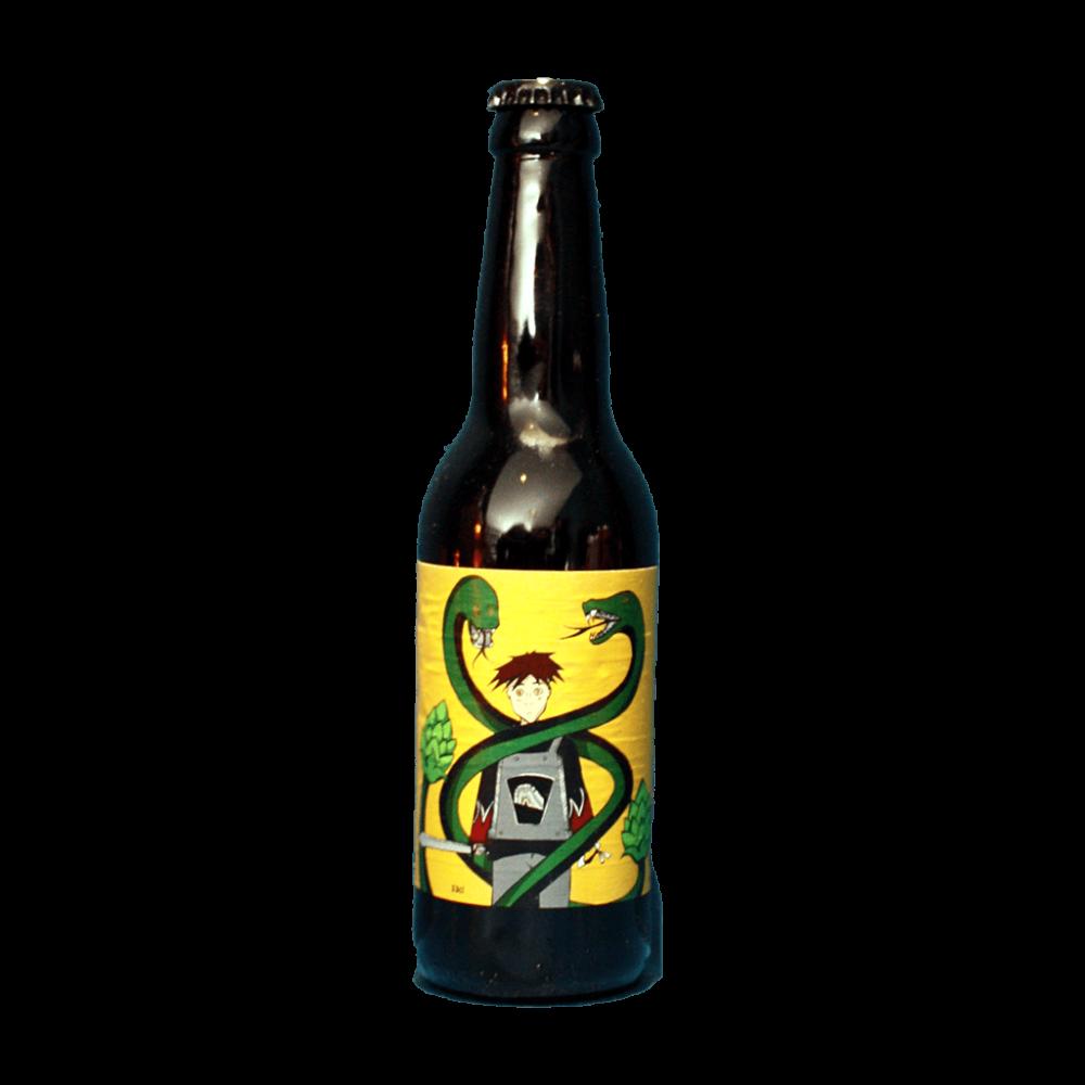 Black Mamba Black IPA Brasserie L'Origine du Monde Bière Artisanale Craft Beer Jura Bieronomy