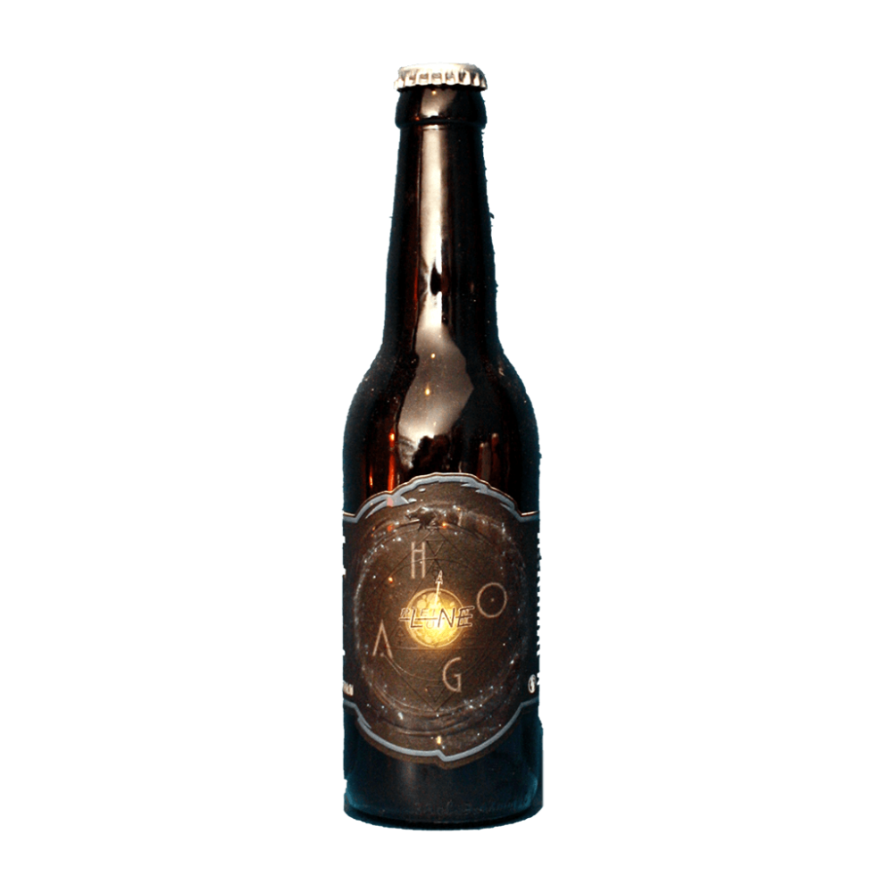 Hoag Brasserie Ouroboros x La Pleine Lune Bière Artisanale Craft Beer Cosmic Hoppy Lager Bieronomy