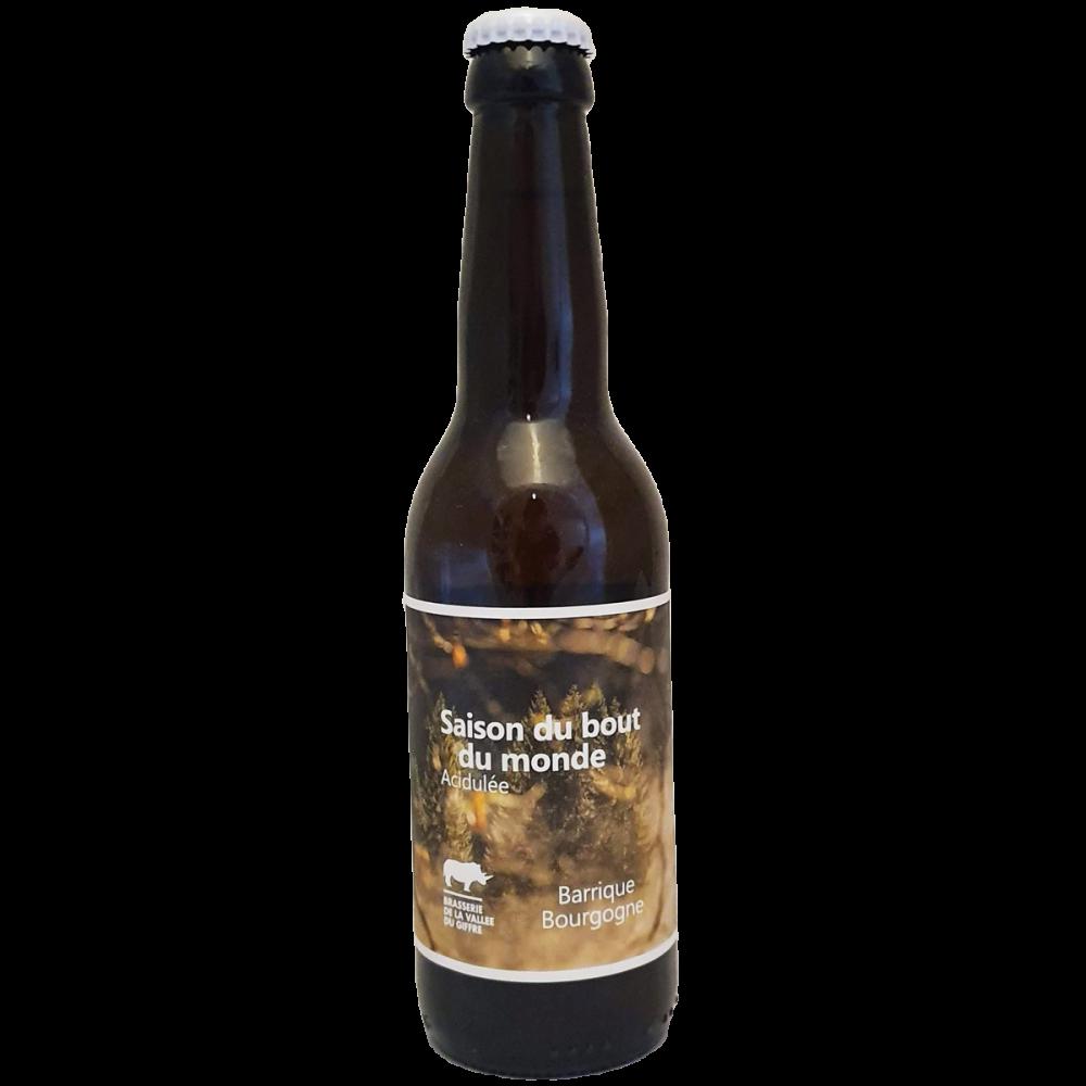 Saison du Bout du Monde Barrique Bourgogne 33 cl Brasserie de la Vallée du Giffre Bière Artisanale Bieronomy