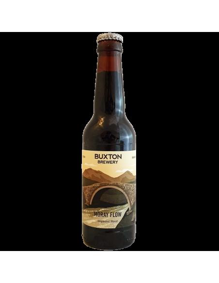 Moray Flow Imperial Stout Buxton Brewery Bière Artisanale Craft UK Bieronomy