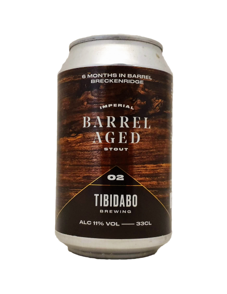 Barrel Aged 2 Breckenridge Imperial Stout - 33 cl - Tibidabo