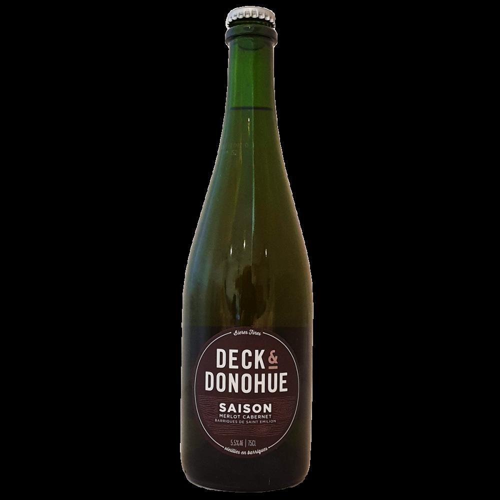 Saison Merlot Cabernet (Saint Emilion) Vieillie En Barrique - 75 cl - Deck & Donohue - Bière Bieronomy