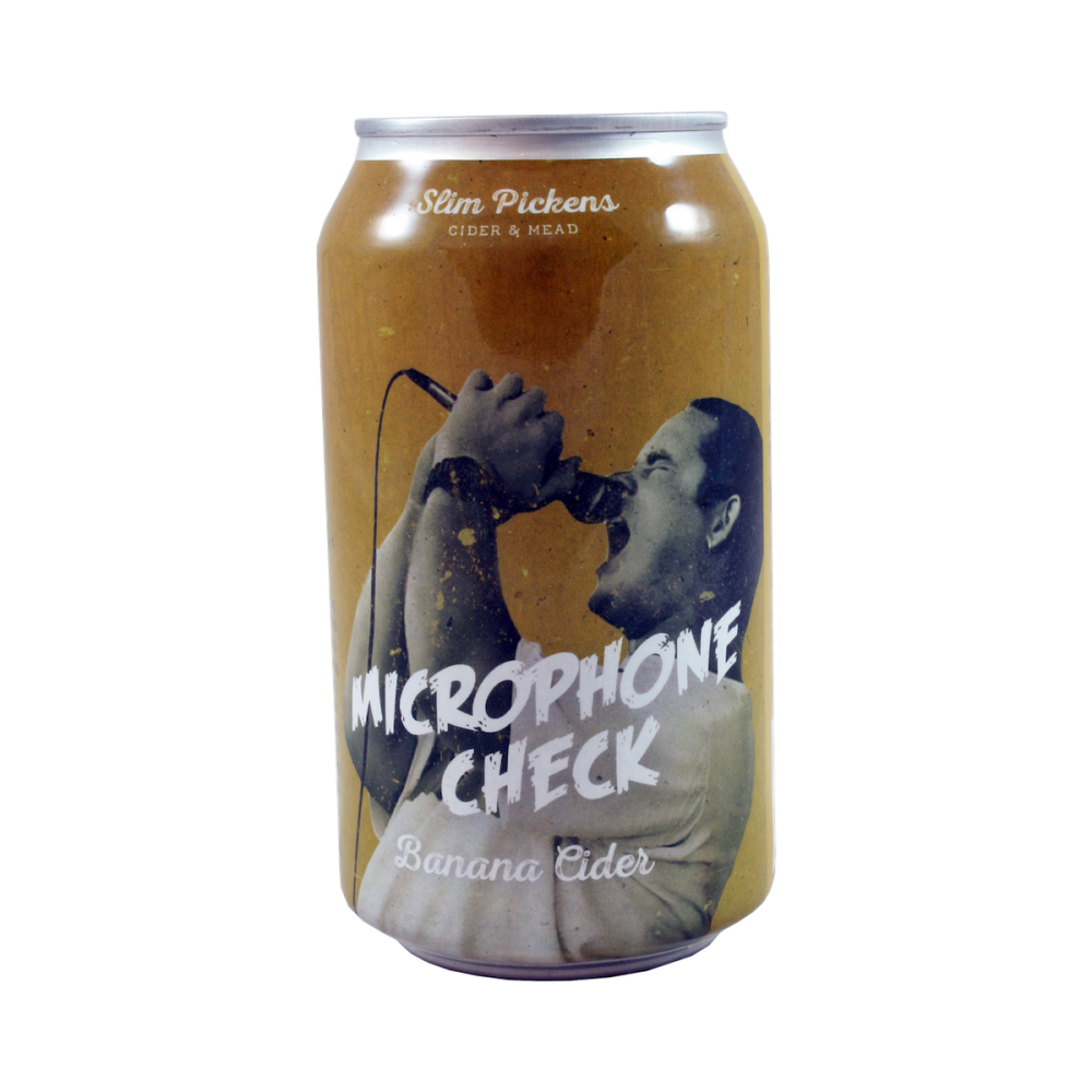 Microphone Check - 33 cl - Slim Pickens Cider & Mead