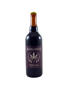 Tropic'Ale Passion Fruit Black IPA - 75 cl - Haarddrëch