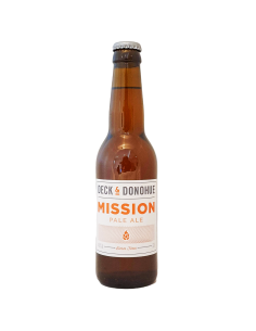 Mission Pale Ale 33 cl BBF 13/11/19 - Deck & Donohue