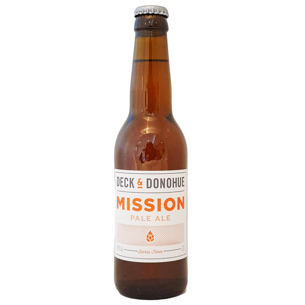 Bière Mission Pale Ale Deck & Donohue Bieronomy