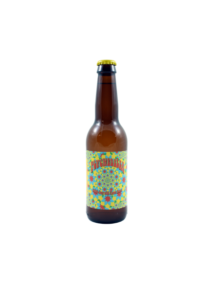 Bière Psychedelia Pale Ale - 33 cl - Brasserie Craig Allan