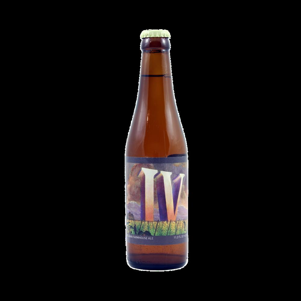 Bière IV Saison - Brasserie de Jandrain-Jandrenouille