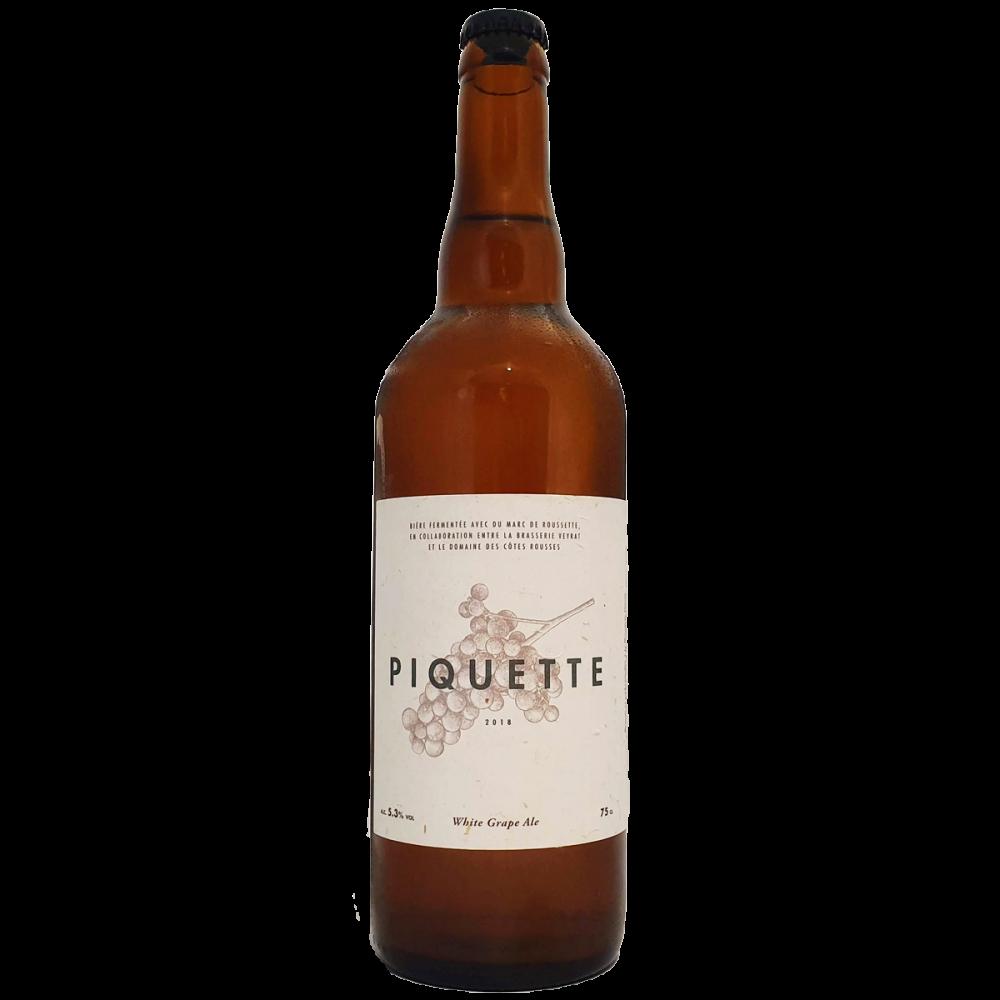 Piquette White Grape Ale Brasserie Veyrat Bière Artisanale Bieronomy